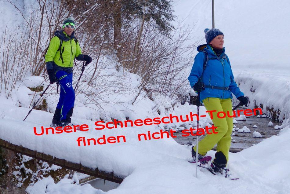 Schneeschuh 08756 Absage